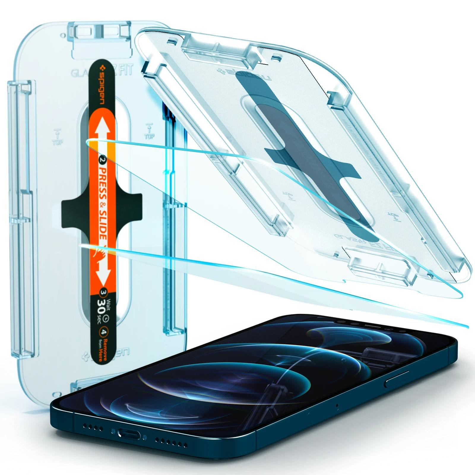 iPhone 12 Pro Max Screen Protector GLAS.tR EZ Fit (2-pack)