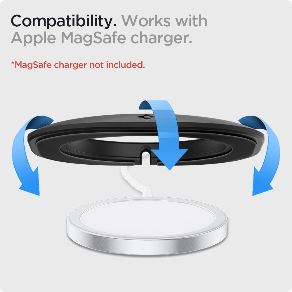 Mag Fit for MagSafe Charger Black