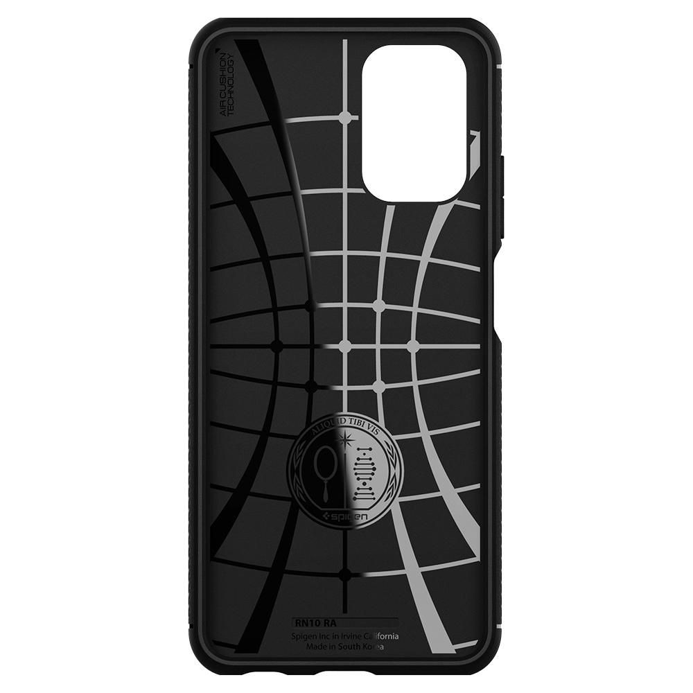 Redmi Note 10 Case Rugged Armor Black