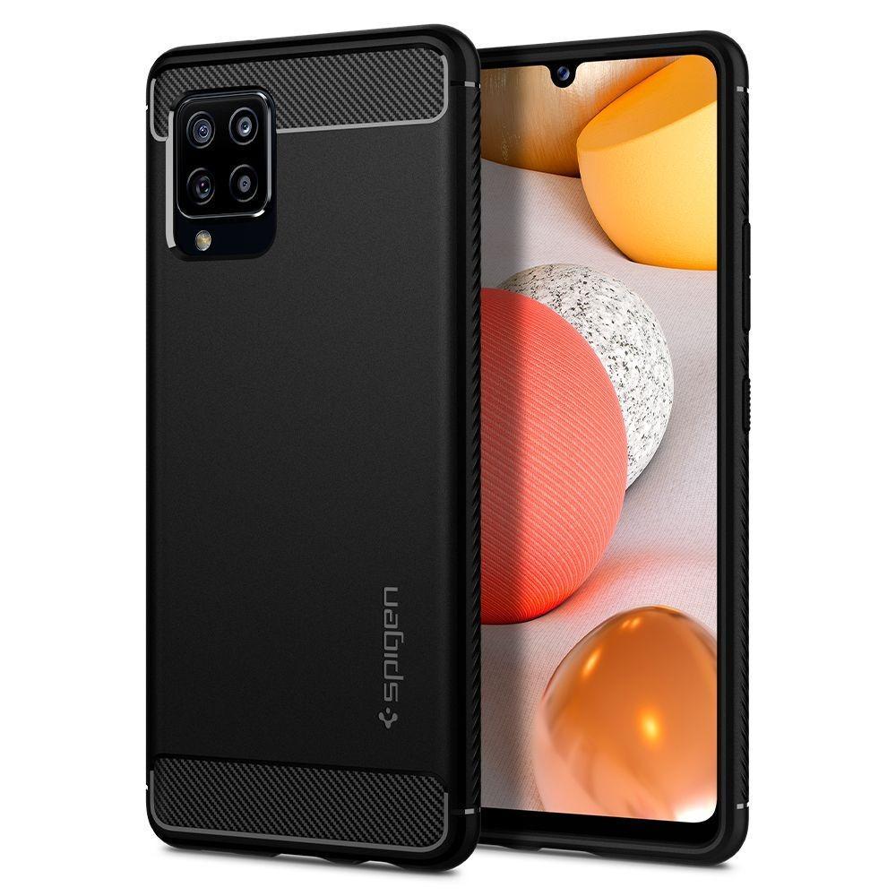 Samsung Galaxy A42 5G Case Rugged Armor Black