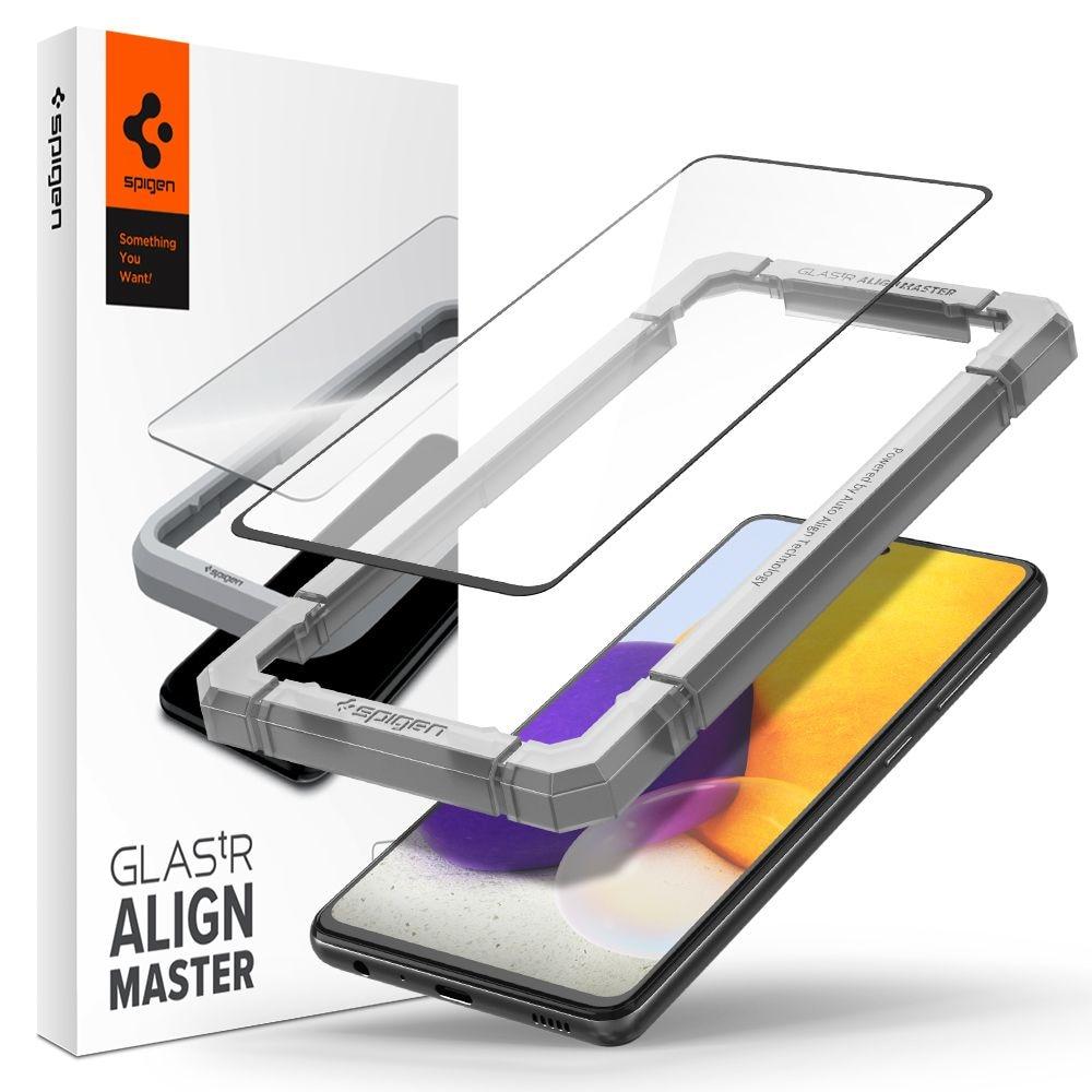 Samsung Galaxy A52 4G/5G AlignMaster GLAS.tR Black