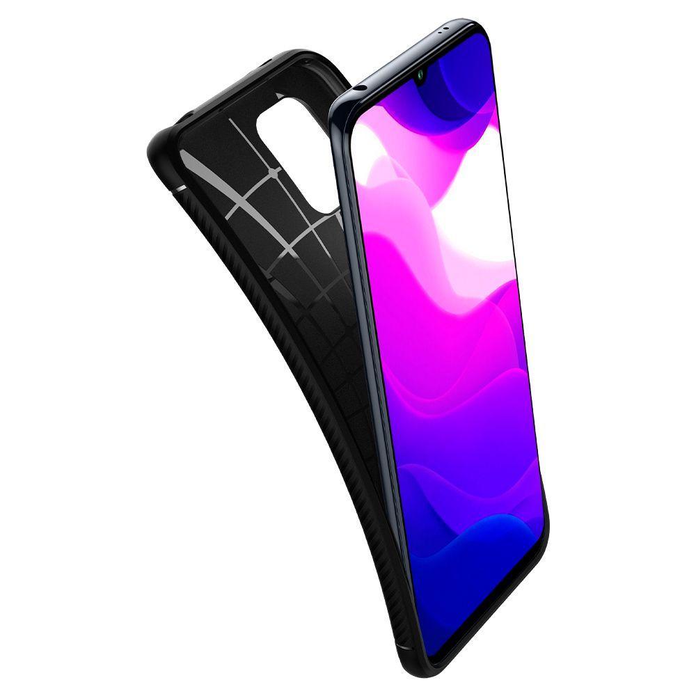 Xiaomi Mi 10 Lite Case Rugged Armor Black
