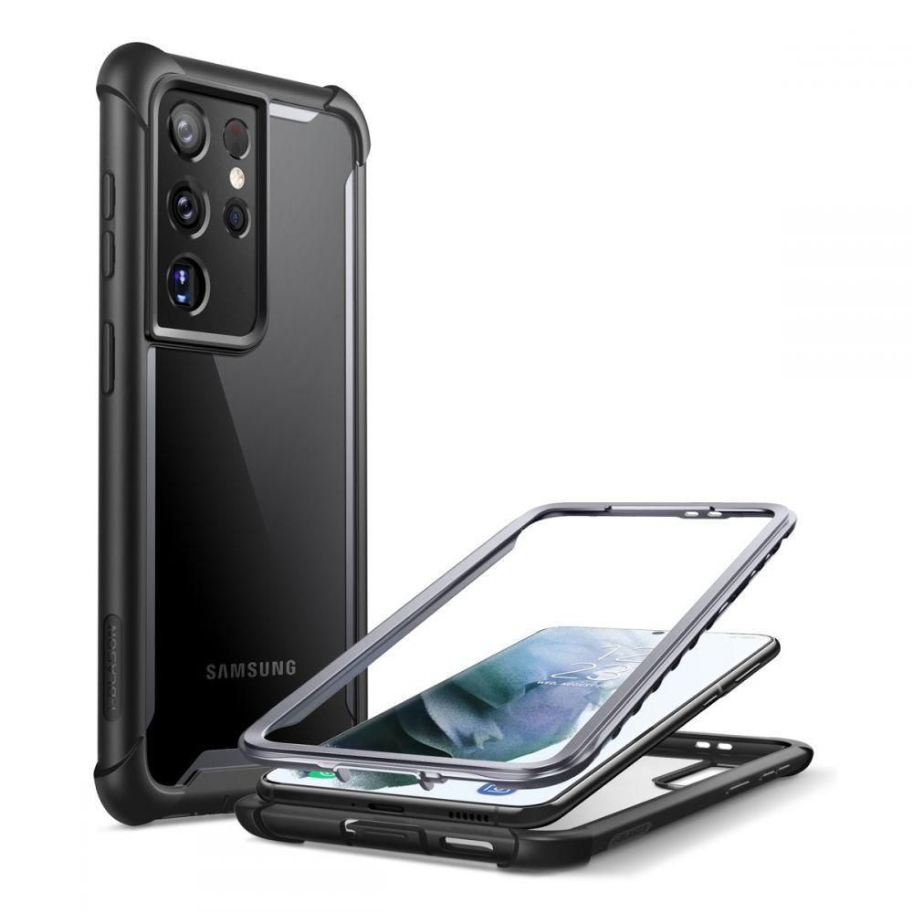 Ares Clear Case Galaxy S21 Ultra Black