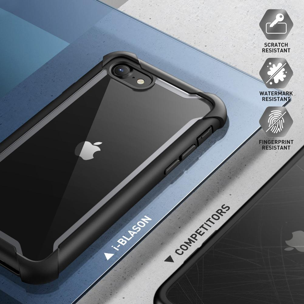 Ares Clear Case iPhone 7/8/SE 2020 Black