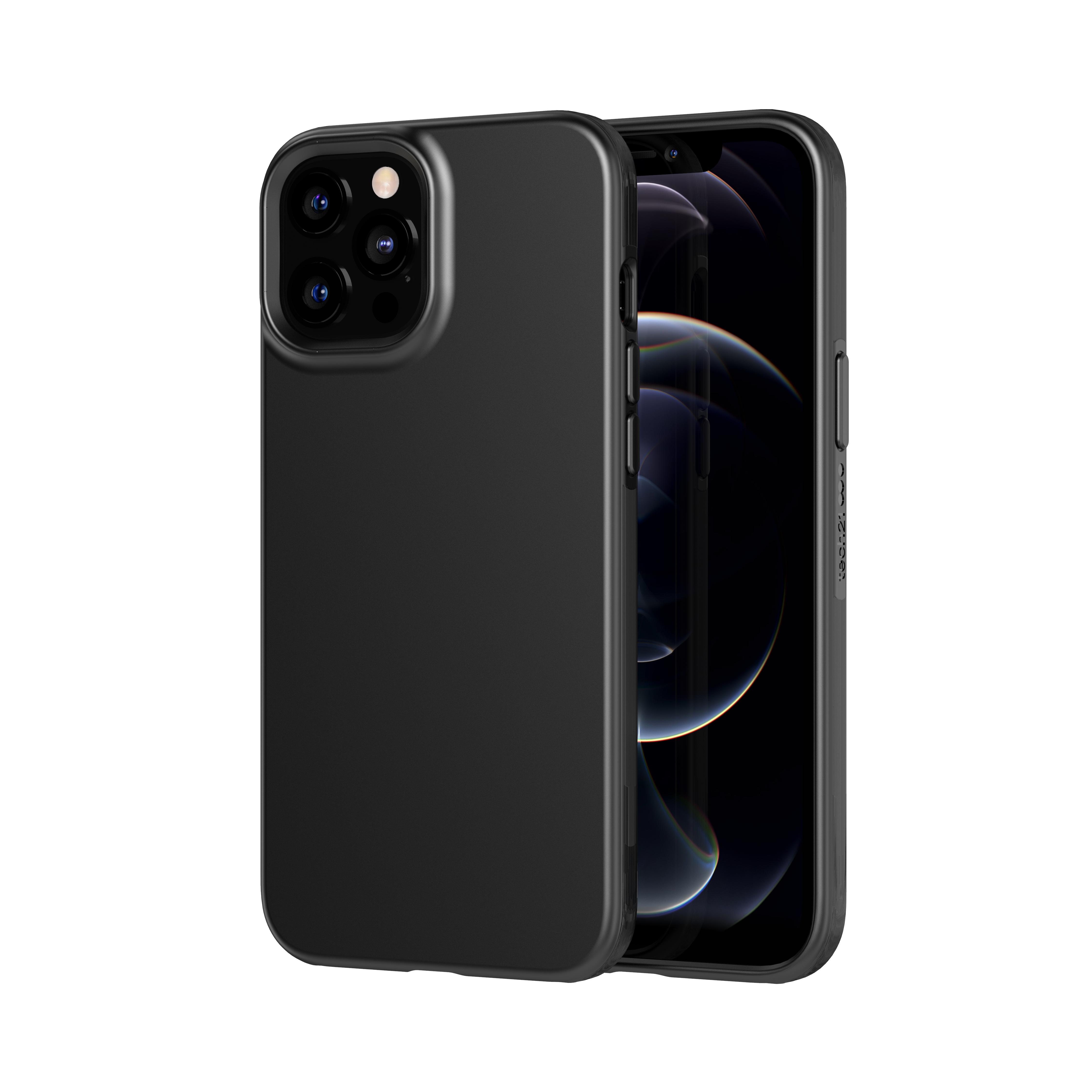 Evo Slim Case iPhone 12/12 Pro Charcoal Black
