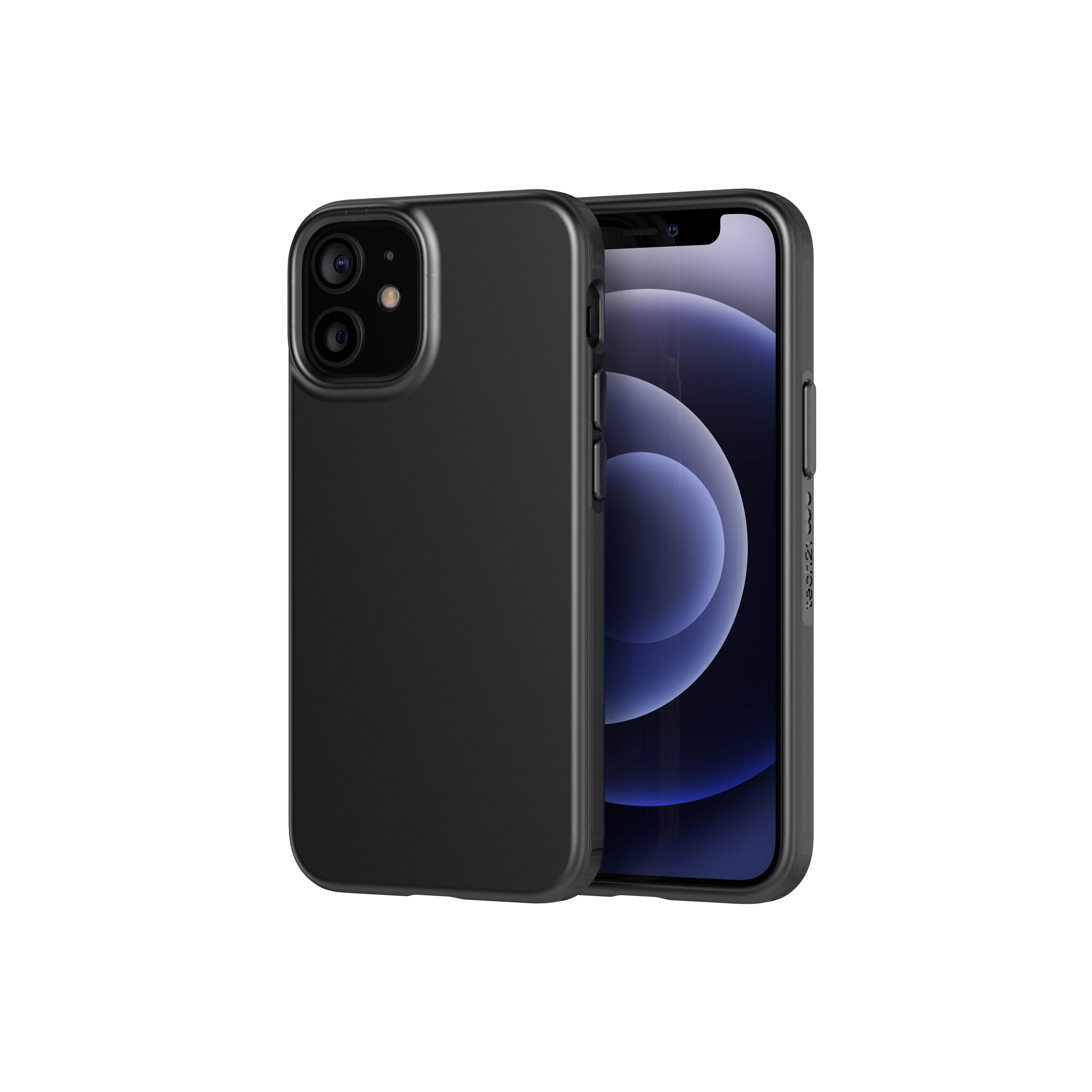 Evo Slim Case iPhone 12 Mini Charcoal Black