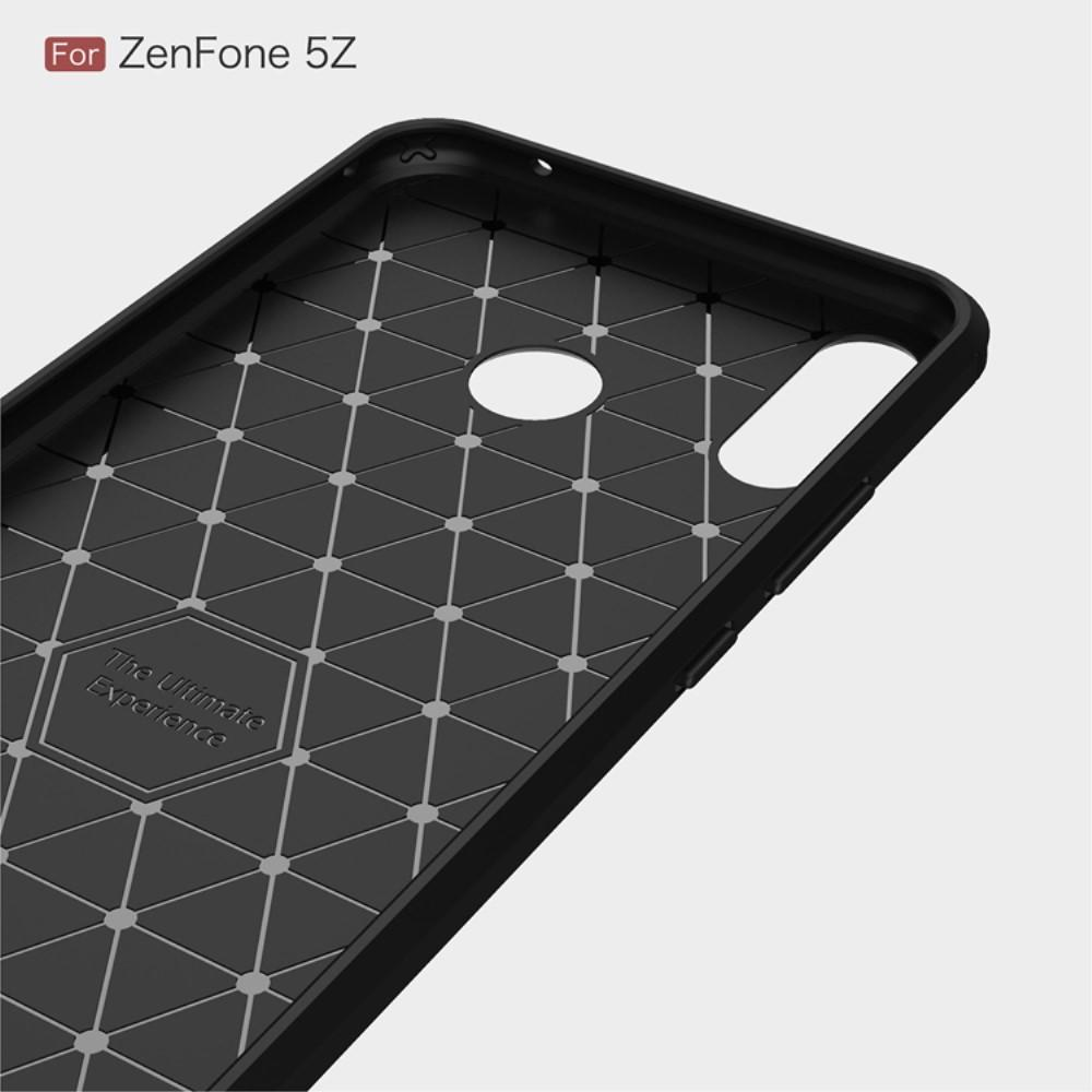 Brushed TPU Case for Asus ZenFone 5/5Z black