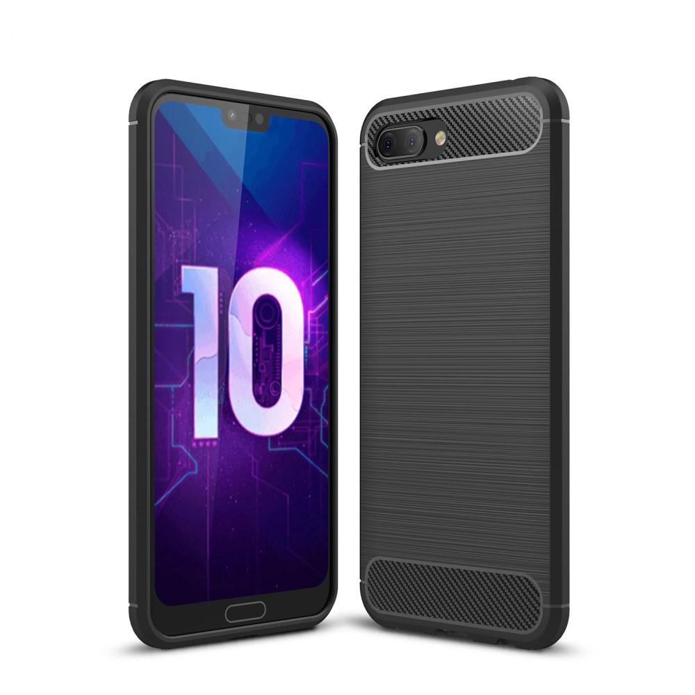Brushed TPU Case for Honor 10 black