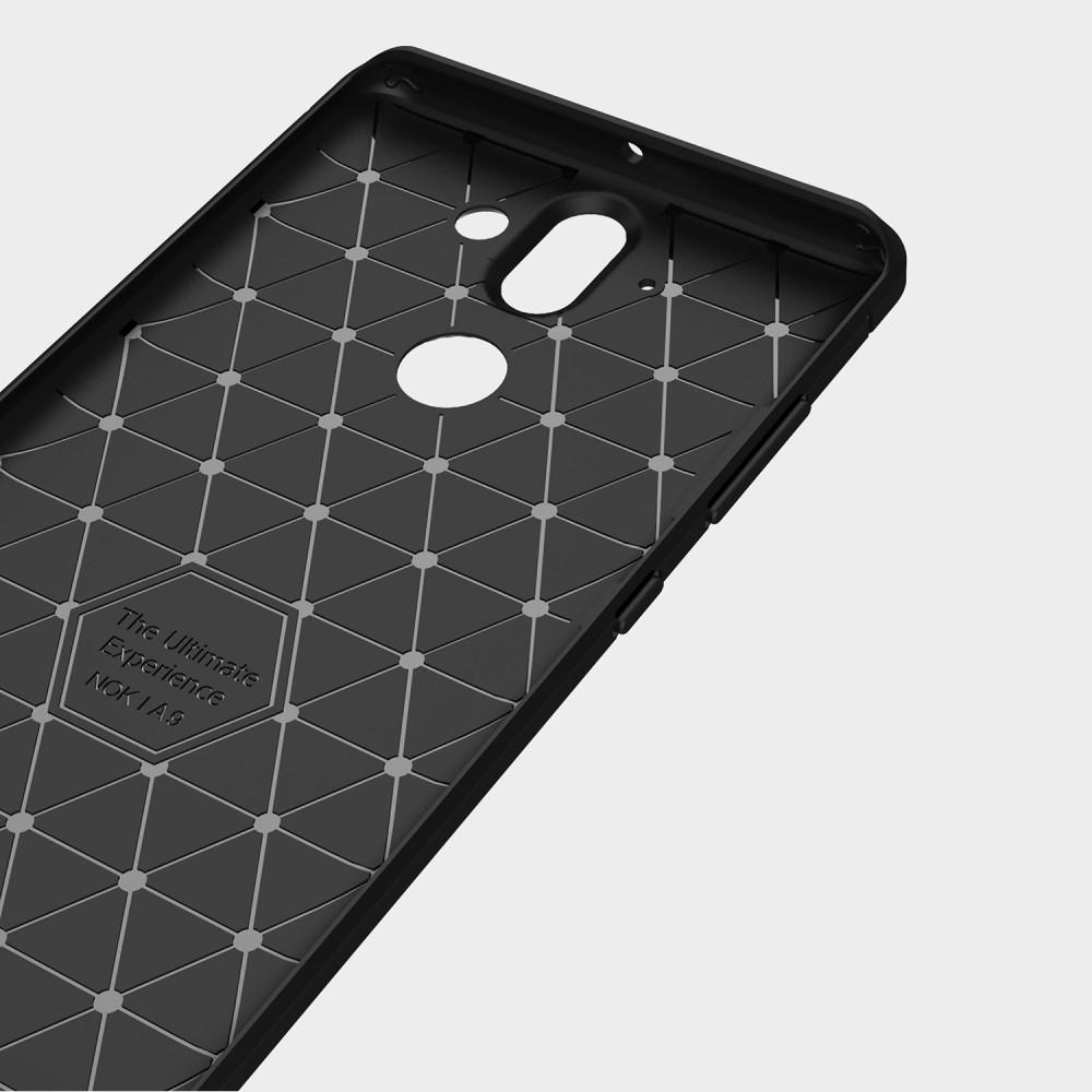 Brushed TPU Case for Nokia 8 Sirocco black