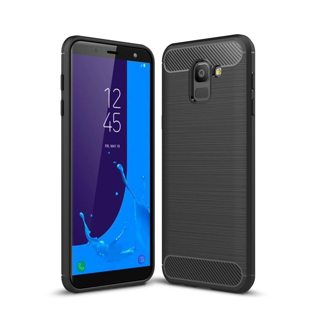 Brushed TPU Case for Samsung Galaxy J6 2018 black