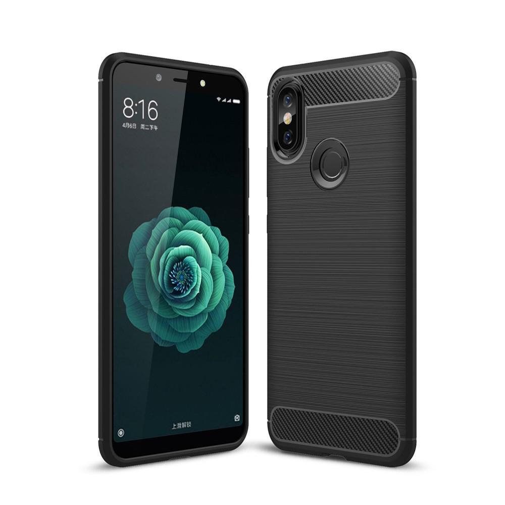 Brushed TPU Case for Xiaomi Mi A2 black