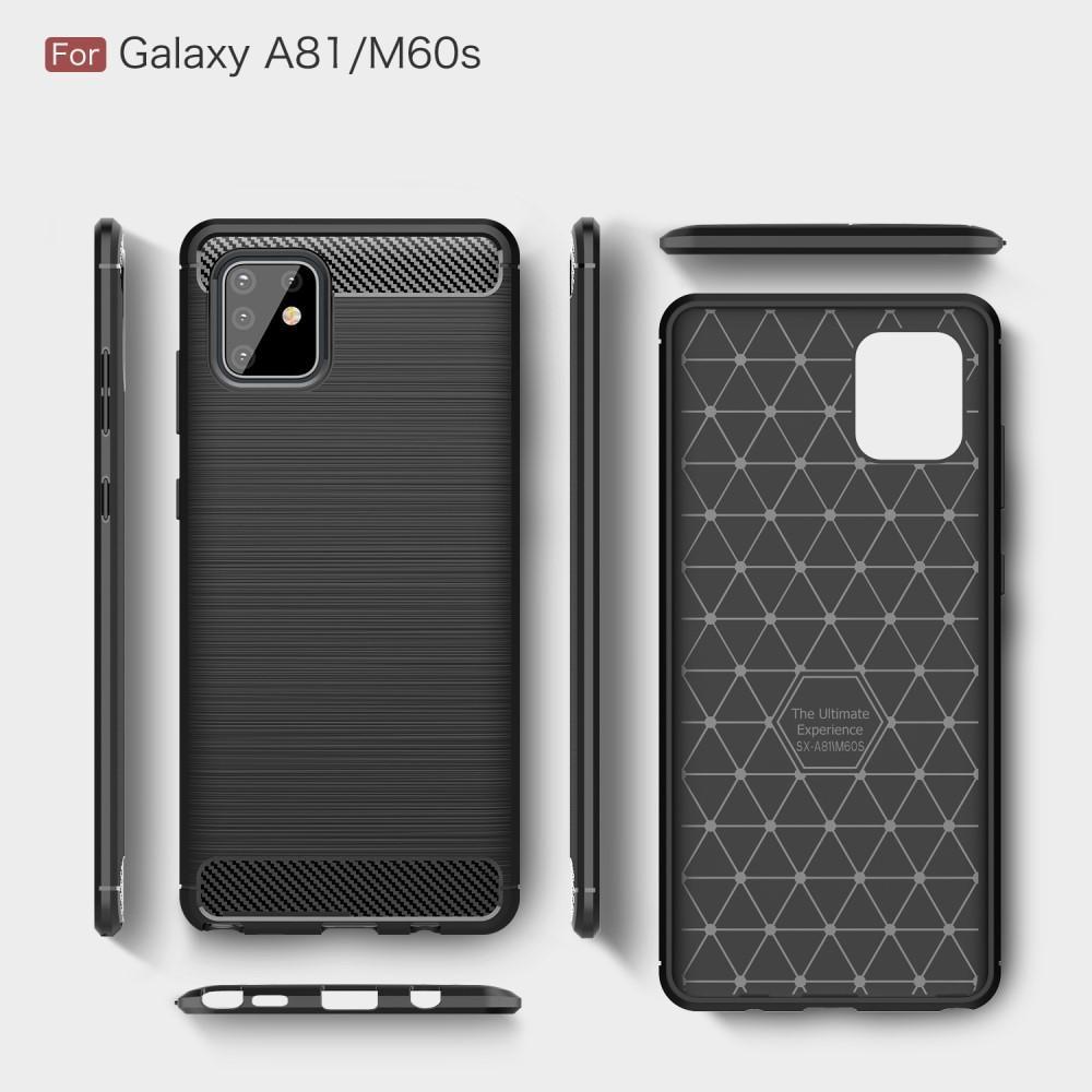 Brushed TPU Case Galaxy Note10 Lite Black