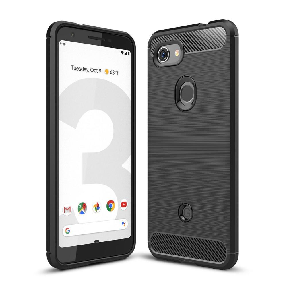 Brushed TPU Case Google Pixel 3a Black
