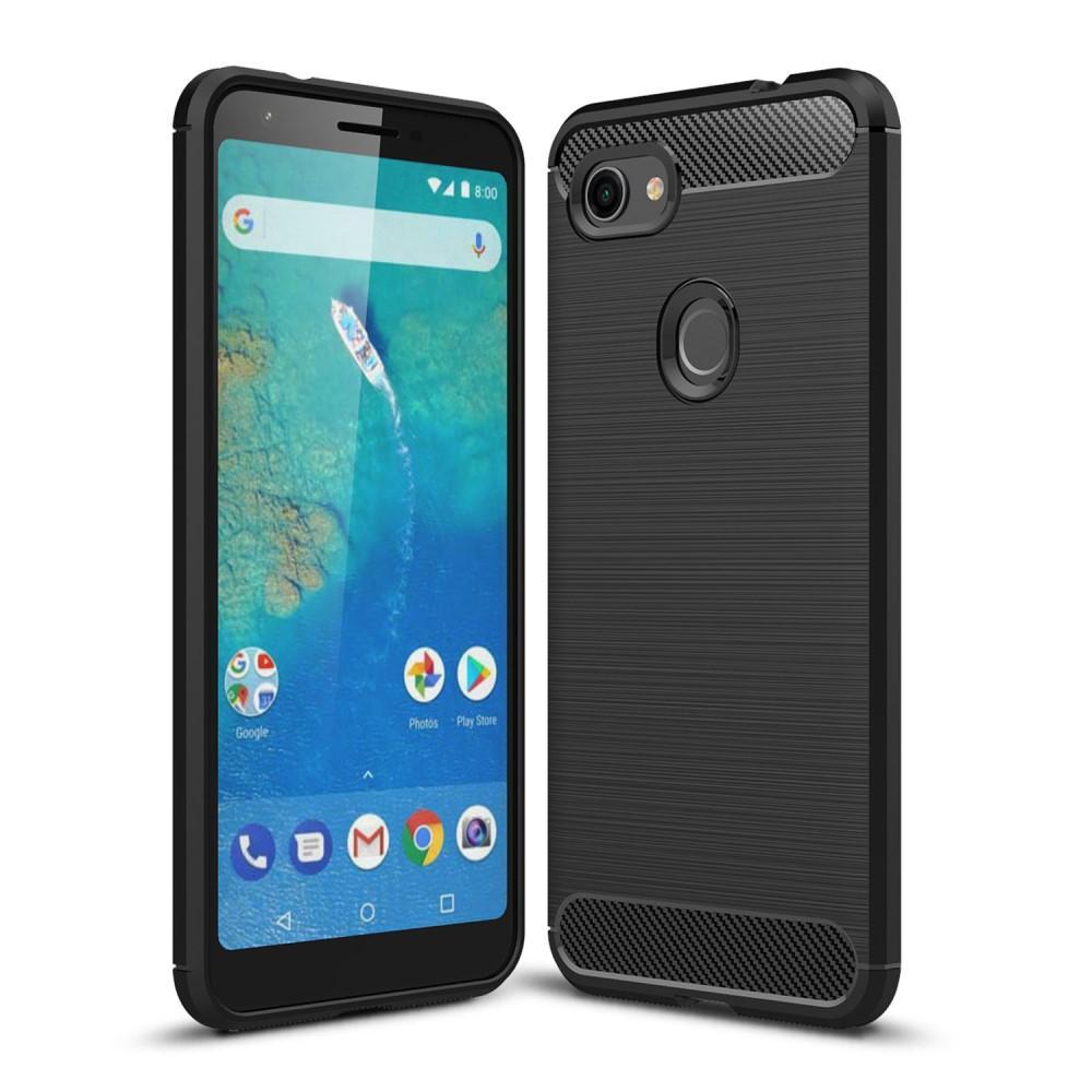 Brushed TPU Case Google Pixel 3a XL Black