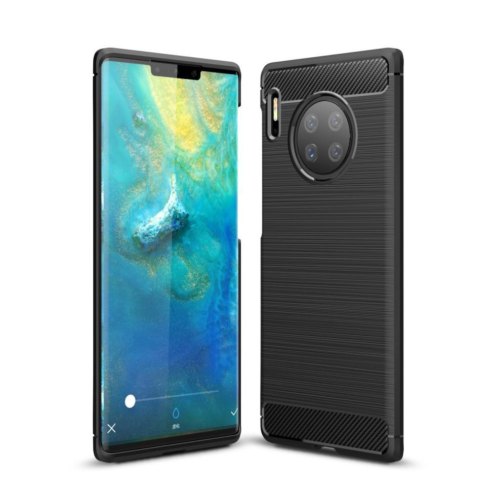 Brushed TPU Case Huawei Mate 30 Pro Black