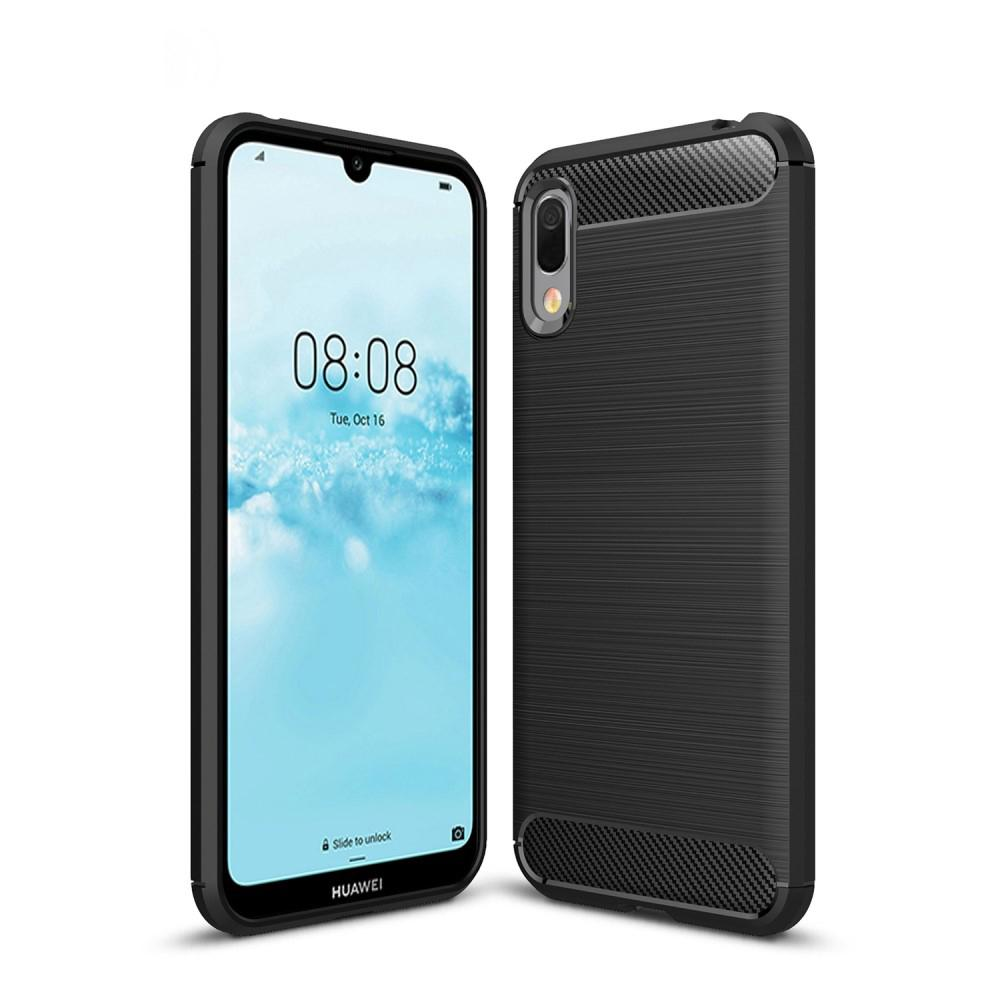 Brushed TPU Case Huawei Y6 2019 Black