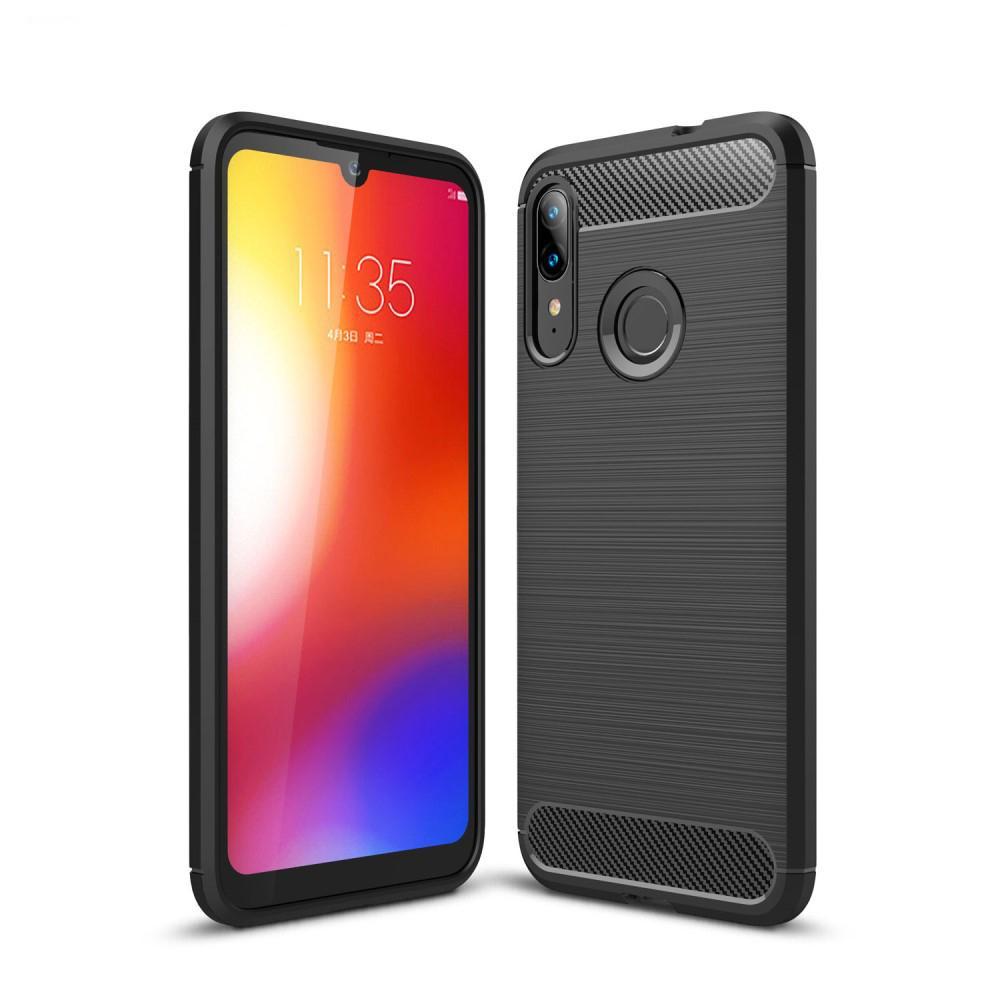 Brushed TPU Case Motorola Moto E6 Plus Black