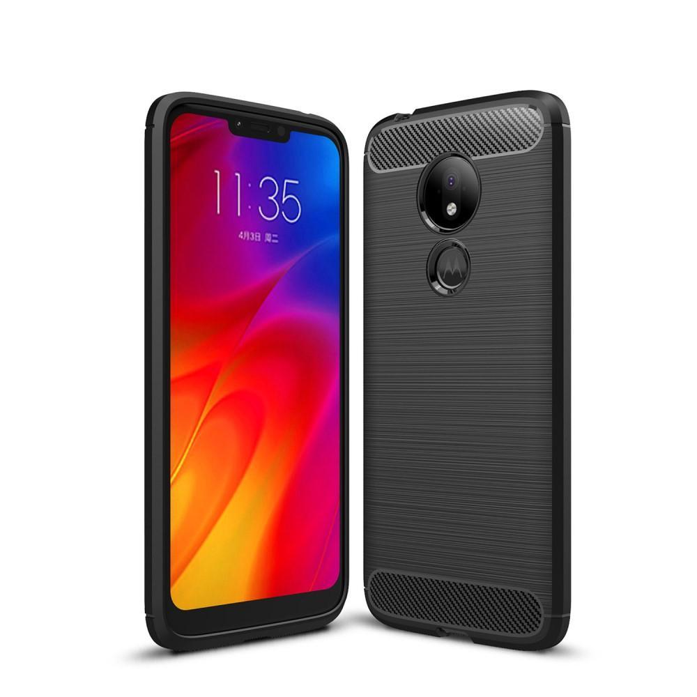 Brushed TPU Case Motorola Moto G7 Power Black
