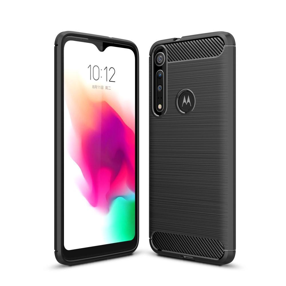 Brushed TPU Case Motorola One Macro Black