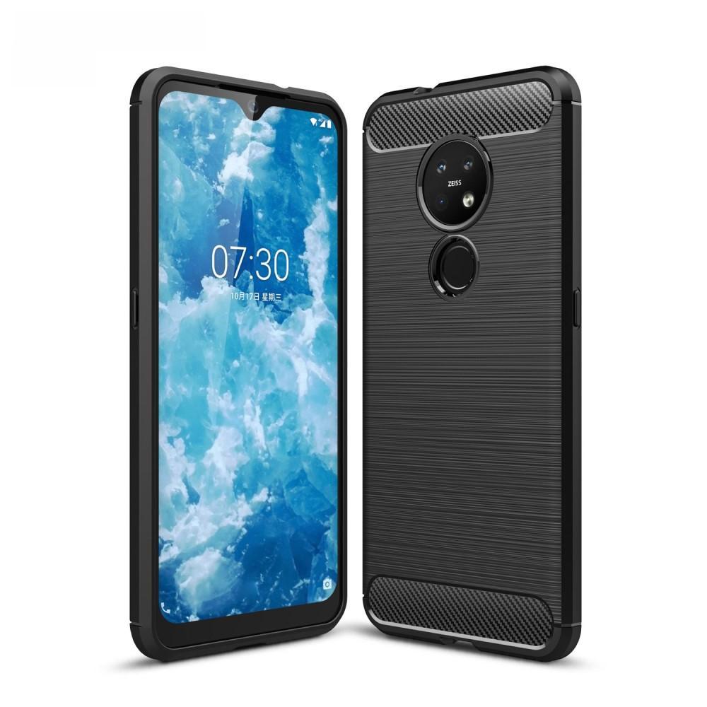 Brushed TPU Case Nokia 6.2/7.2 Black
