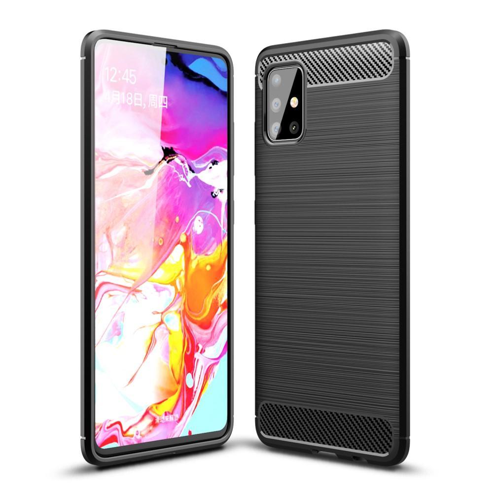 Brushed TPU Case Samsung Galaxy A51 Black