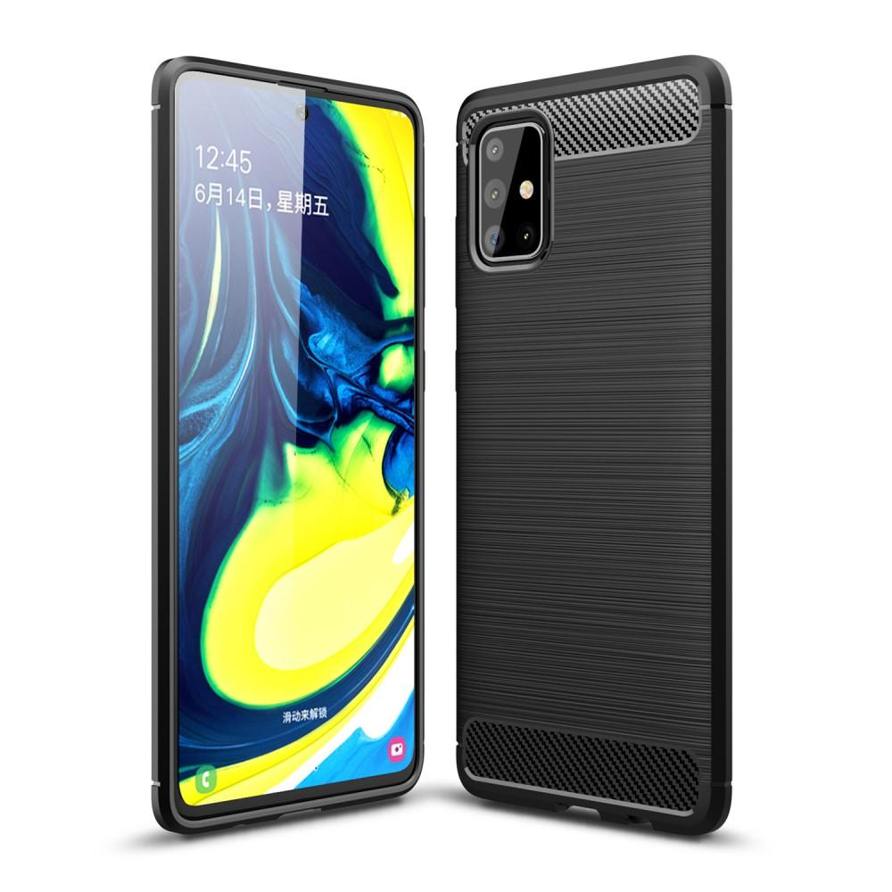 Brushed TPU Case Samsung Galaxy A71 Black