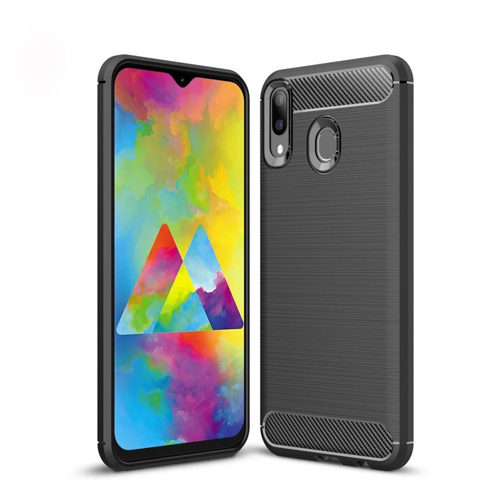 Brushed TPU Case Samsung Galaxy M20 Black