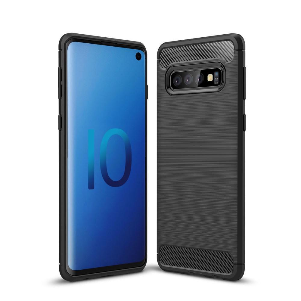 Brushed TPU Case Samsung Galaxy S10 black