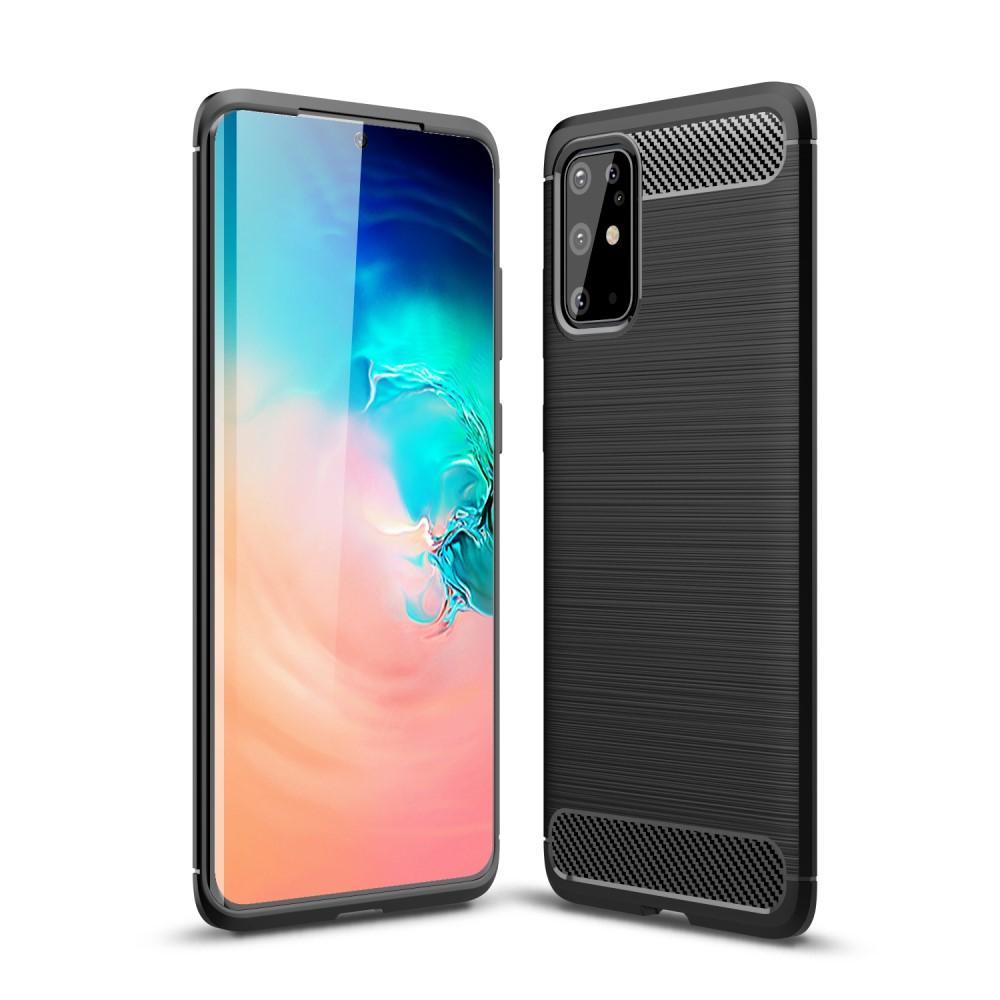 Brushed TPU Case Samsung Galaxy S20 Plus Black