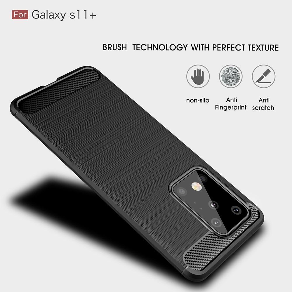 Brushed TPU Case Samsung Galaxy S20 Ultra Black