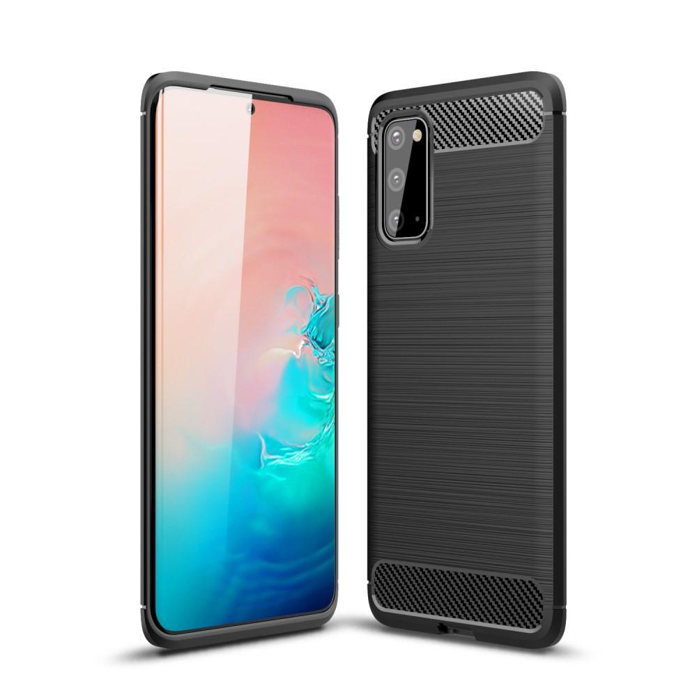 Brushed TPU Case Samsung Galaxy S20 Black