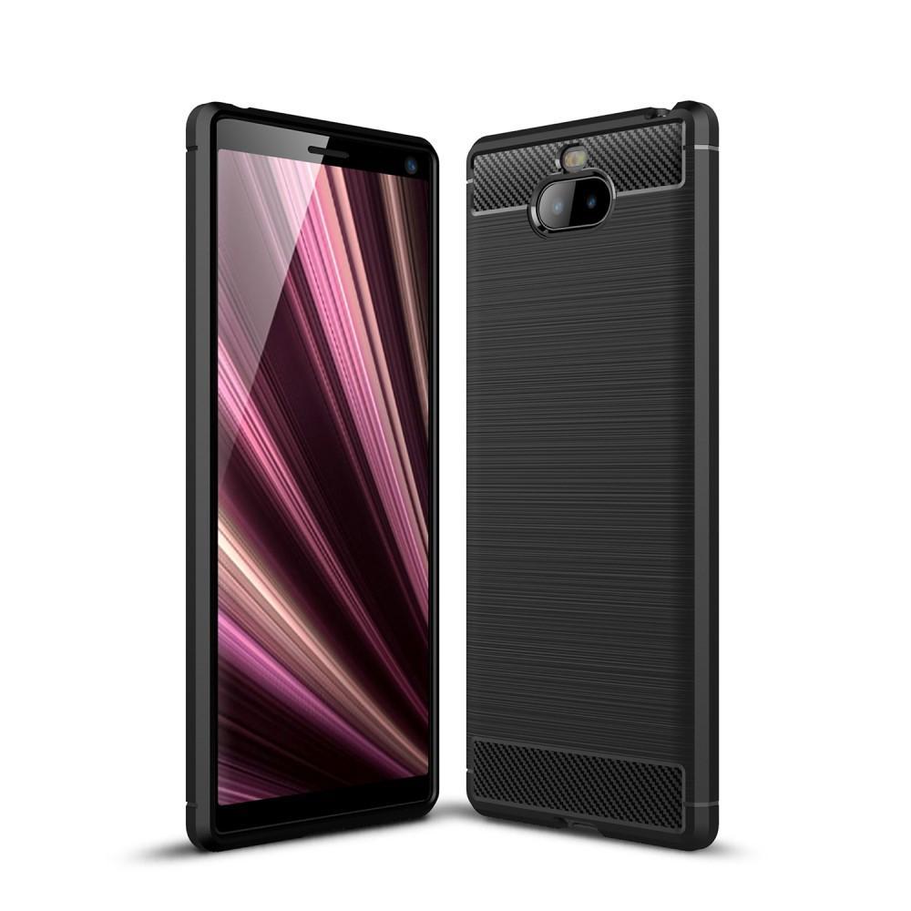 Brushed TPU Case Sony Xperia 10 Plus Black