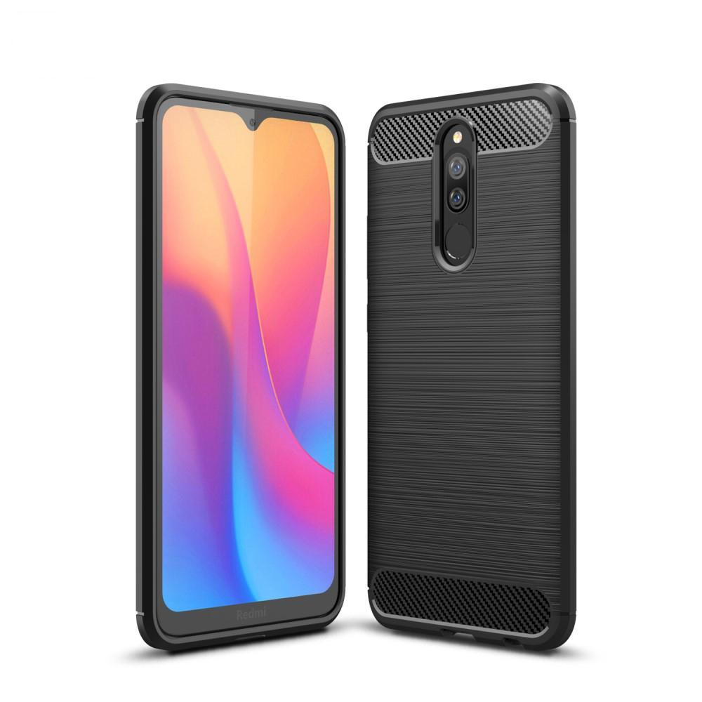 Brushed TPU Case Xiaomi Redmi 8/8A Black
