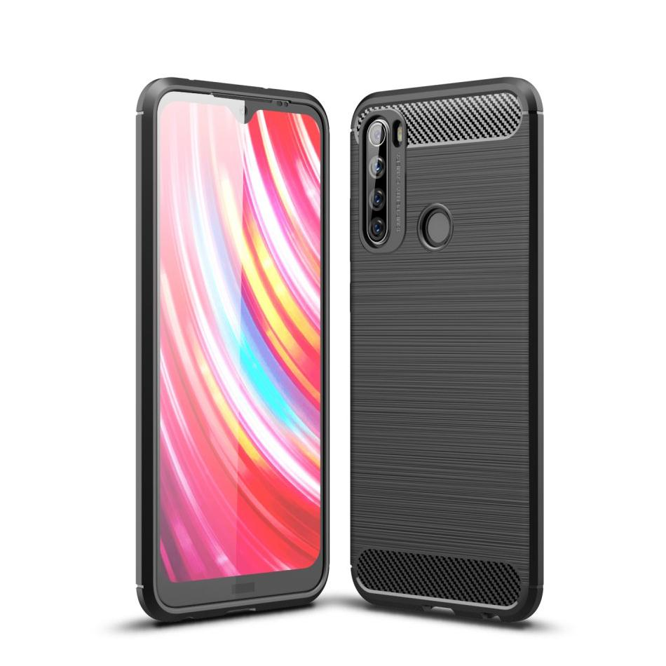 Brushed TPU Case Xiaomi Redmi Note 8T Black