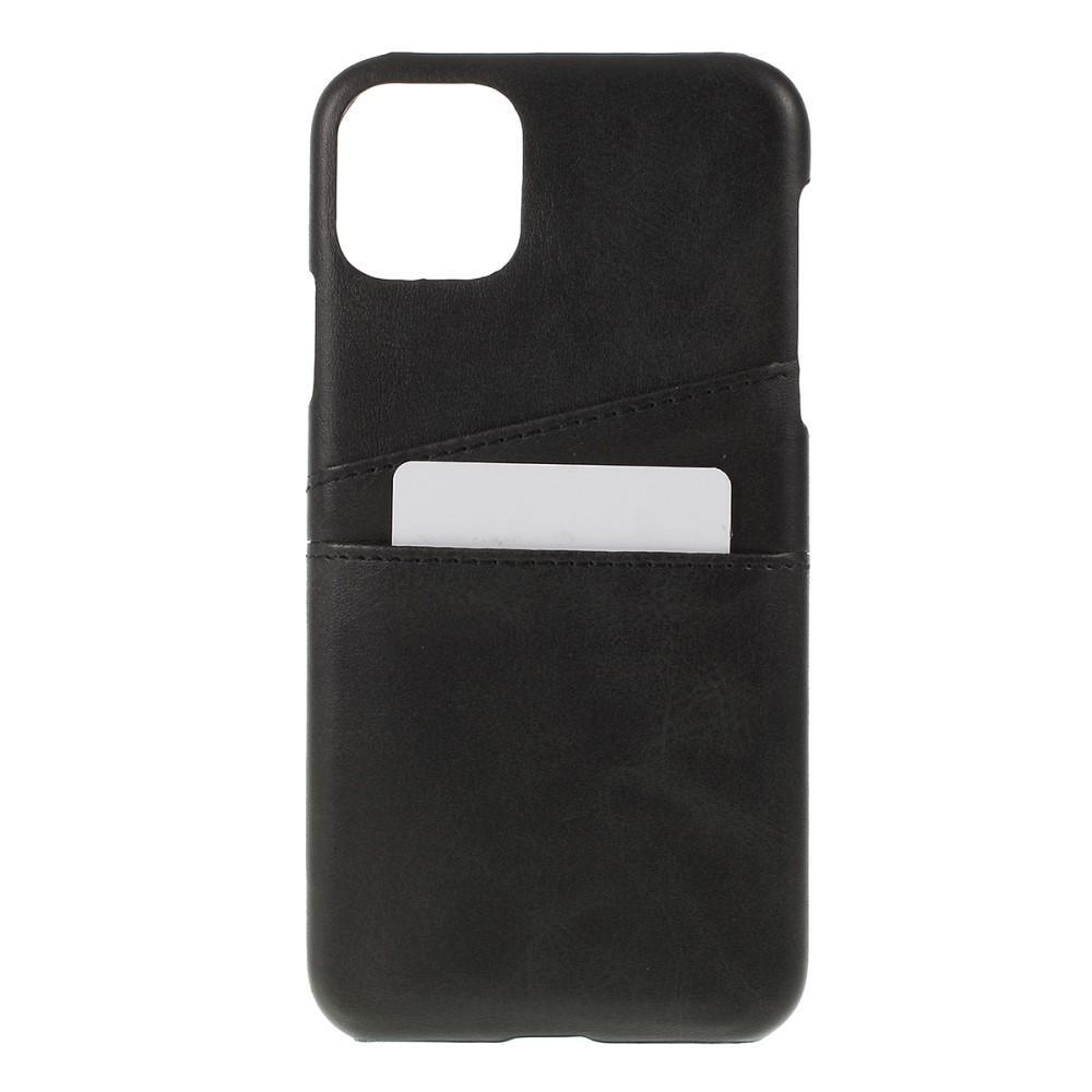 Card Slots Case iPhone 11 svart