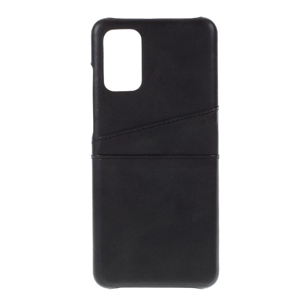 Card Slots Case Samsung Galaxy S20 Plus svart