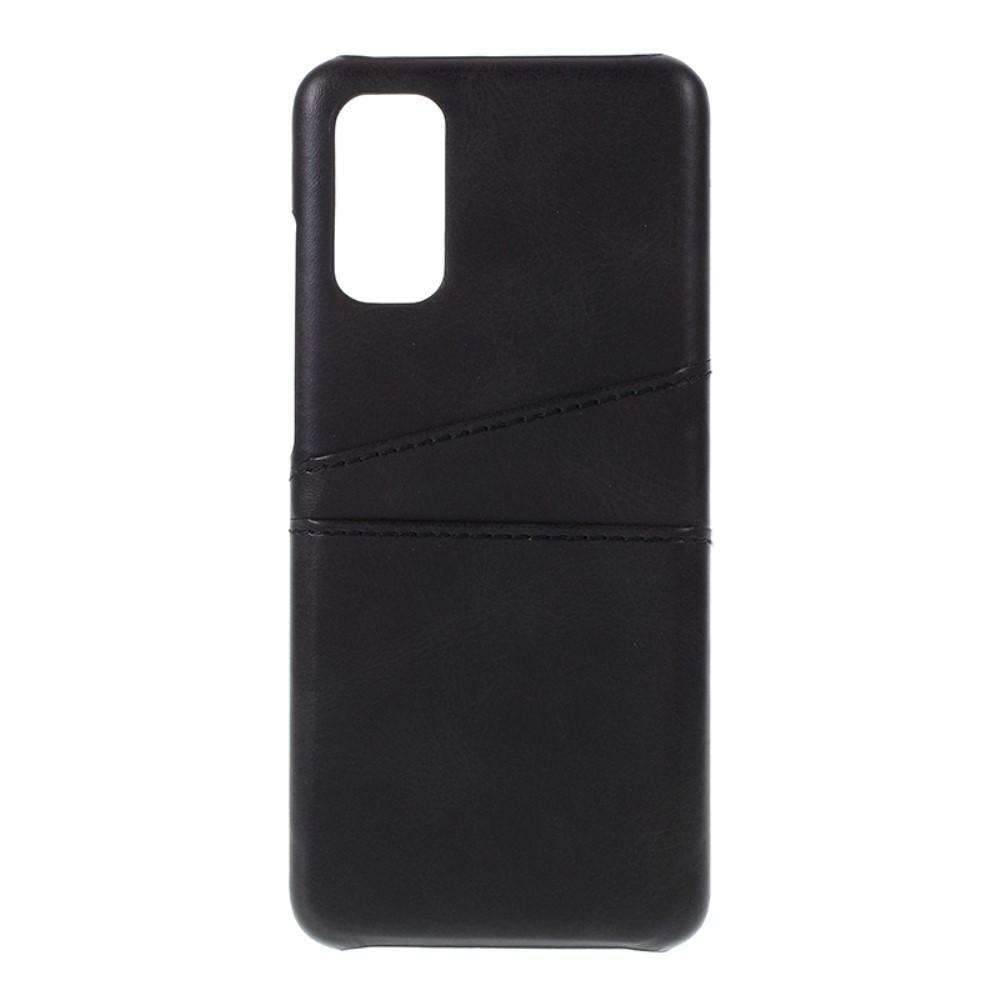 Card Slots Case Samsung Galaxy S20 svart