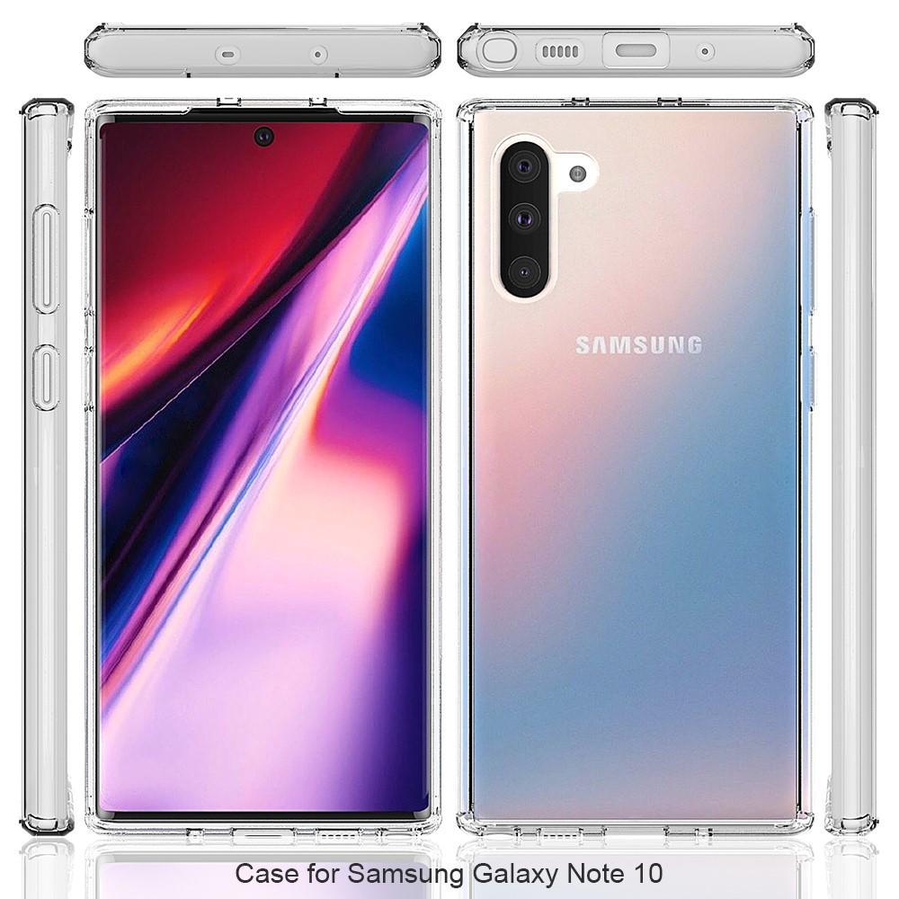 Crystal Hybrid Case Galaxy Note 10 Transparent