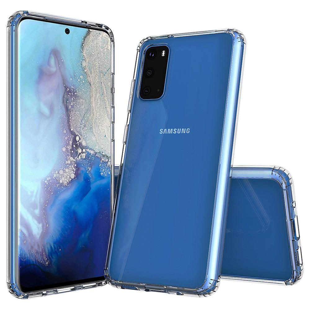 Crystal Hybrid Case Galaxy S20 Transparent