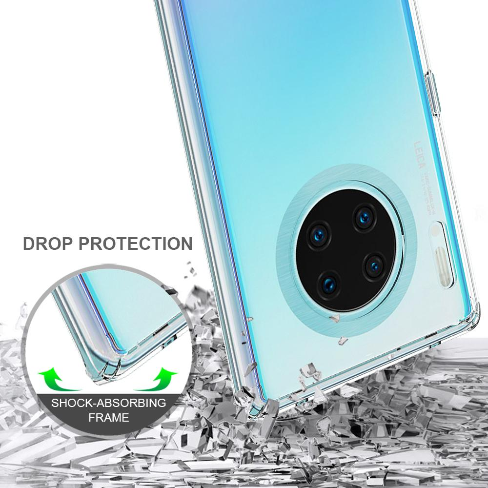 Crystal Hybrid Case Huawei Mate 30 Pro Transparent