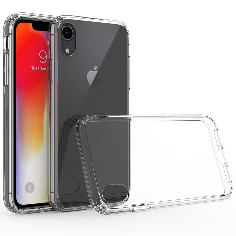 Crystal Hybrid Case iPhone XR Transparent