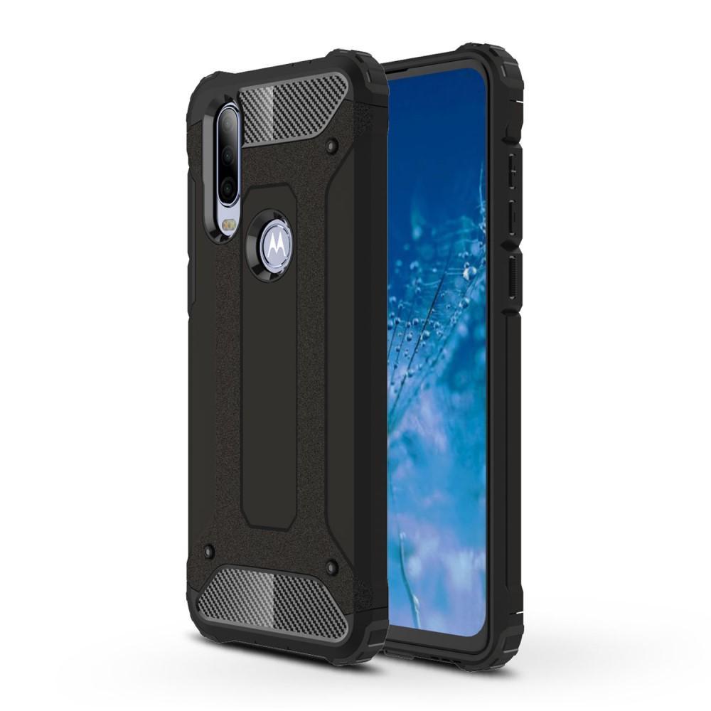 Hybridskal Tough Motorola One Action svart