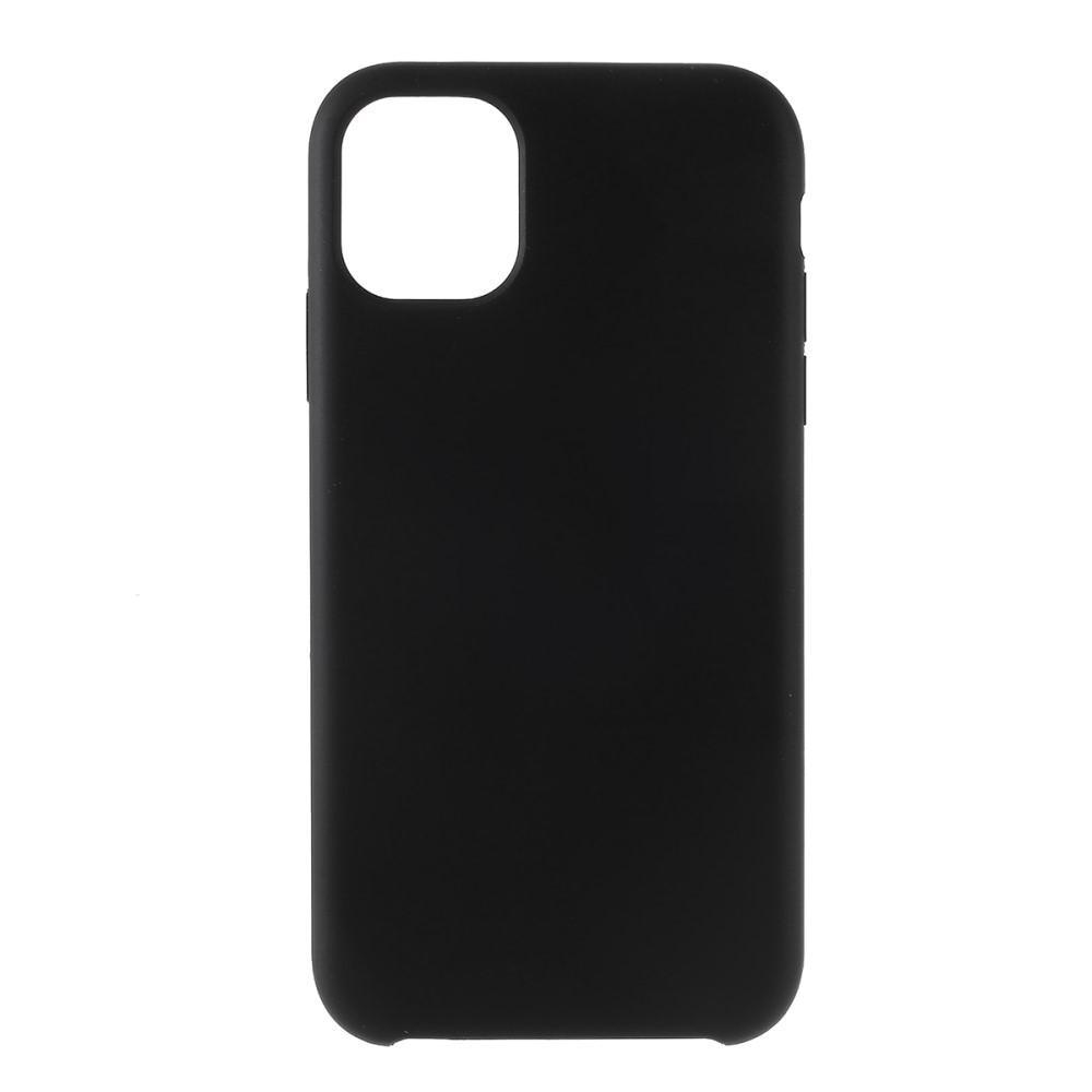 Liquid Silicone Case iPhone 11 Pro Max Black
