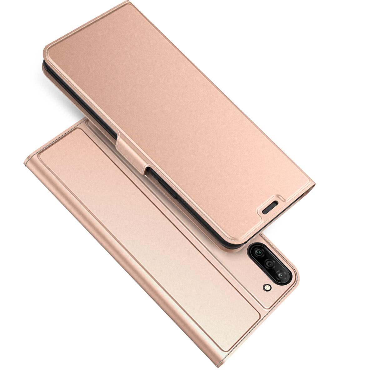 Slim Card Wallet Galaxy Note 10 roséguld