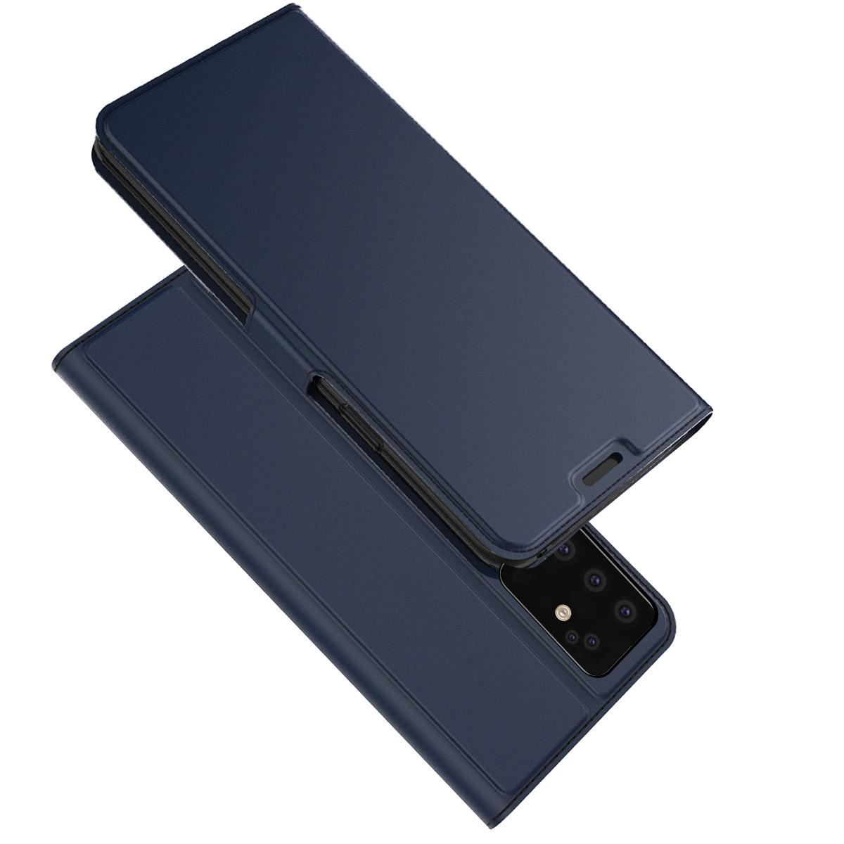 Slim Card Wallet Galaxy S20 Plus marinblå