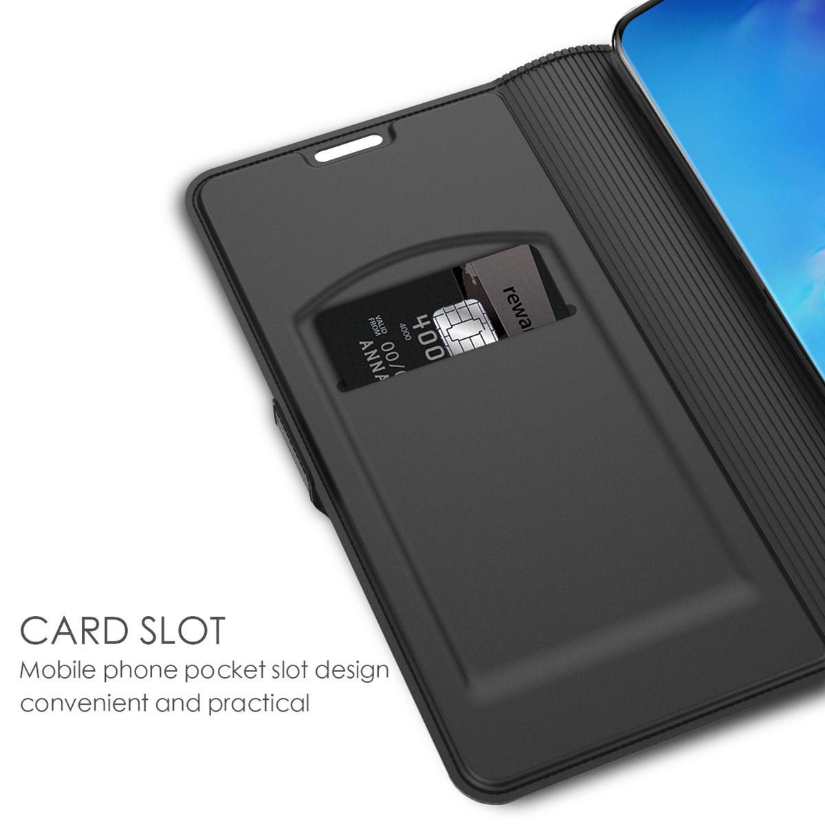 Slim Card Wallet Galaxy S20 Ultra svart