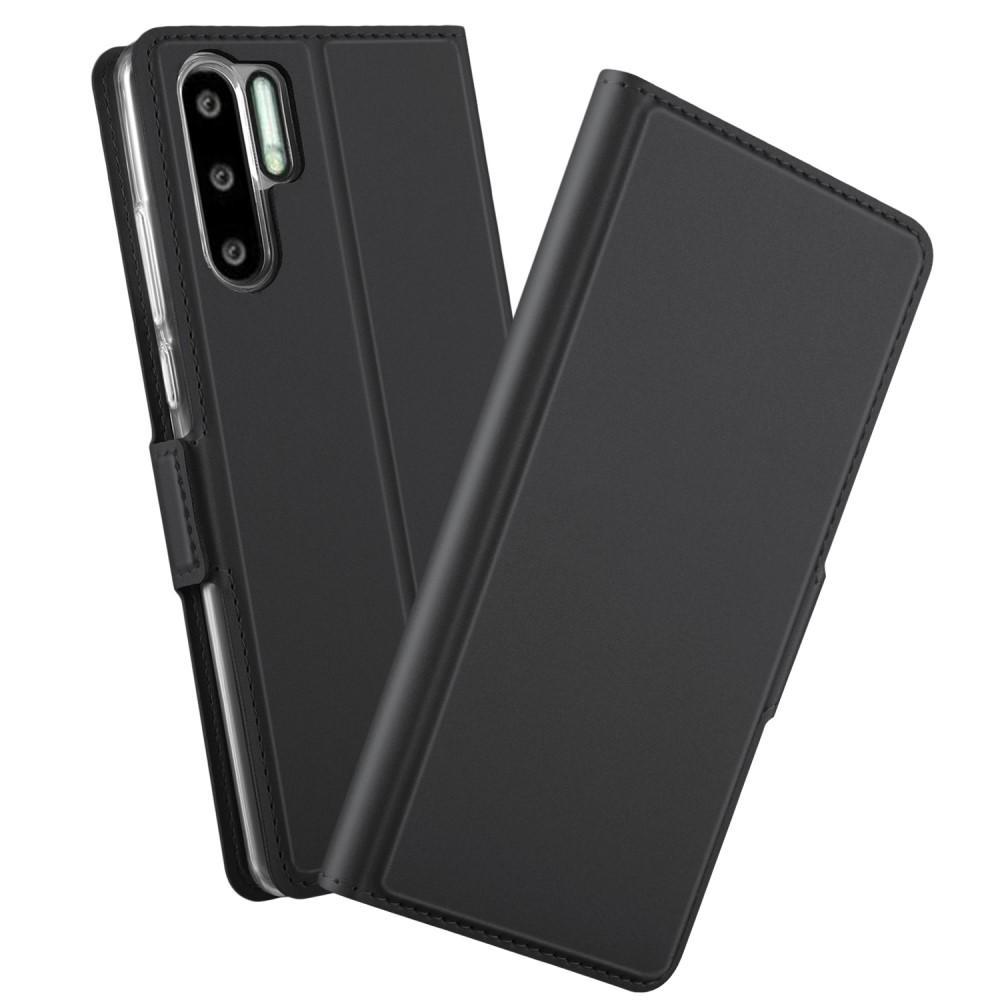 Slim Card Wallet Huawei P30 Pro svart