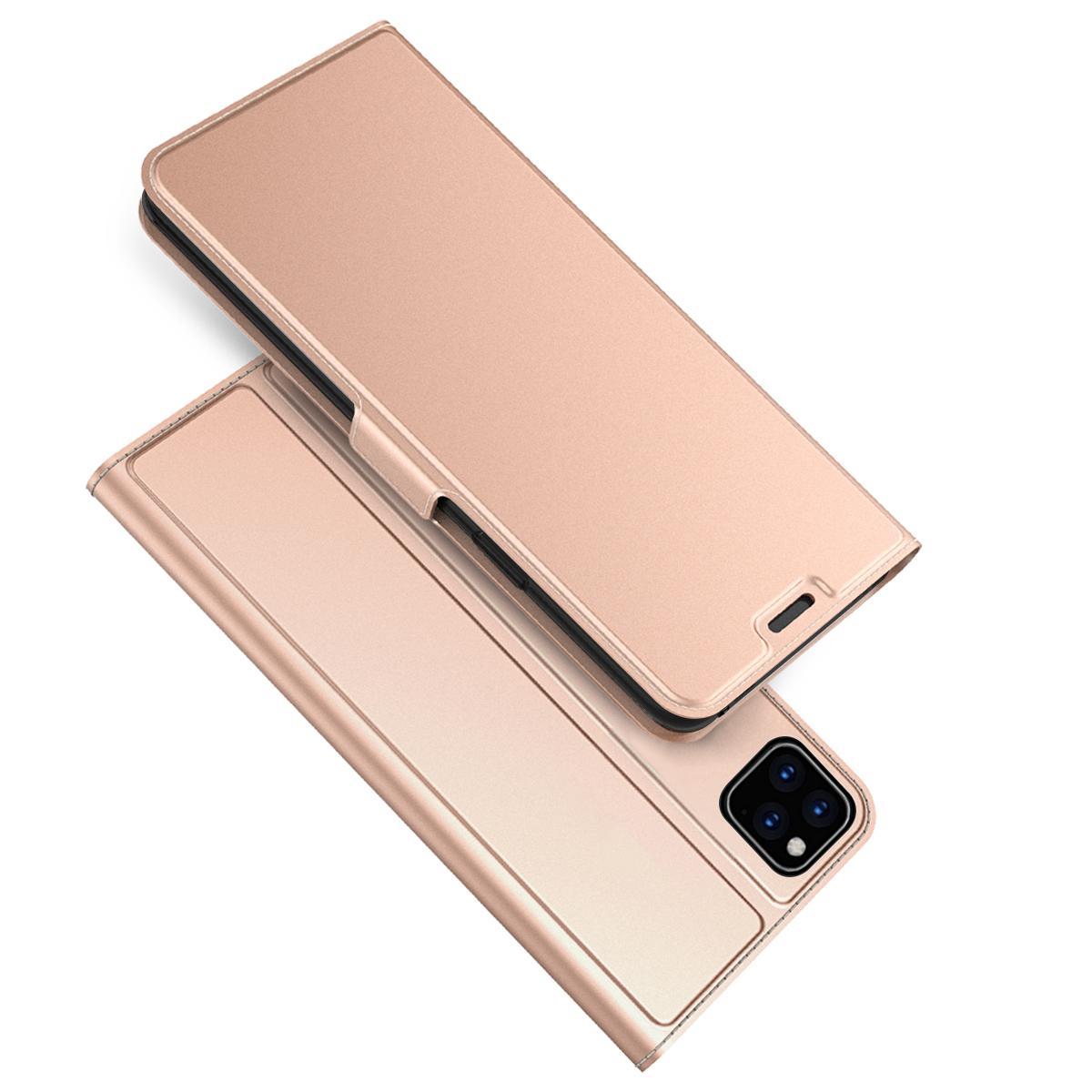 Slim Card Wallet iPhone 11 roséguld
