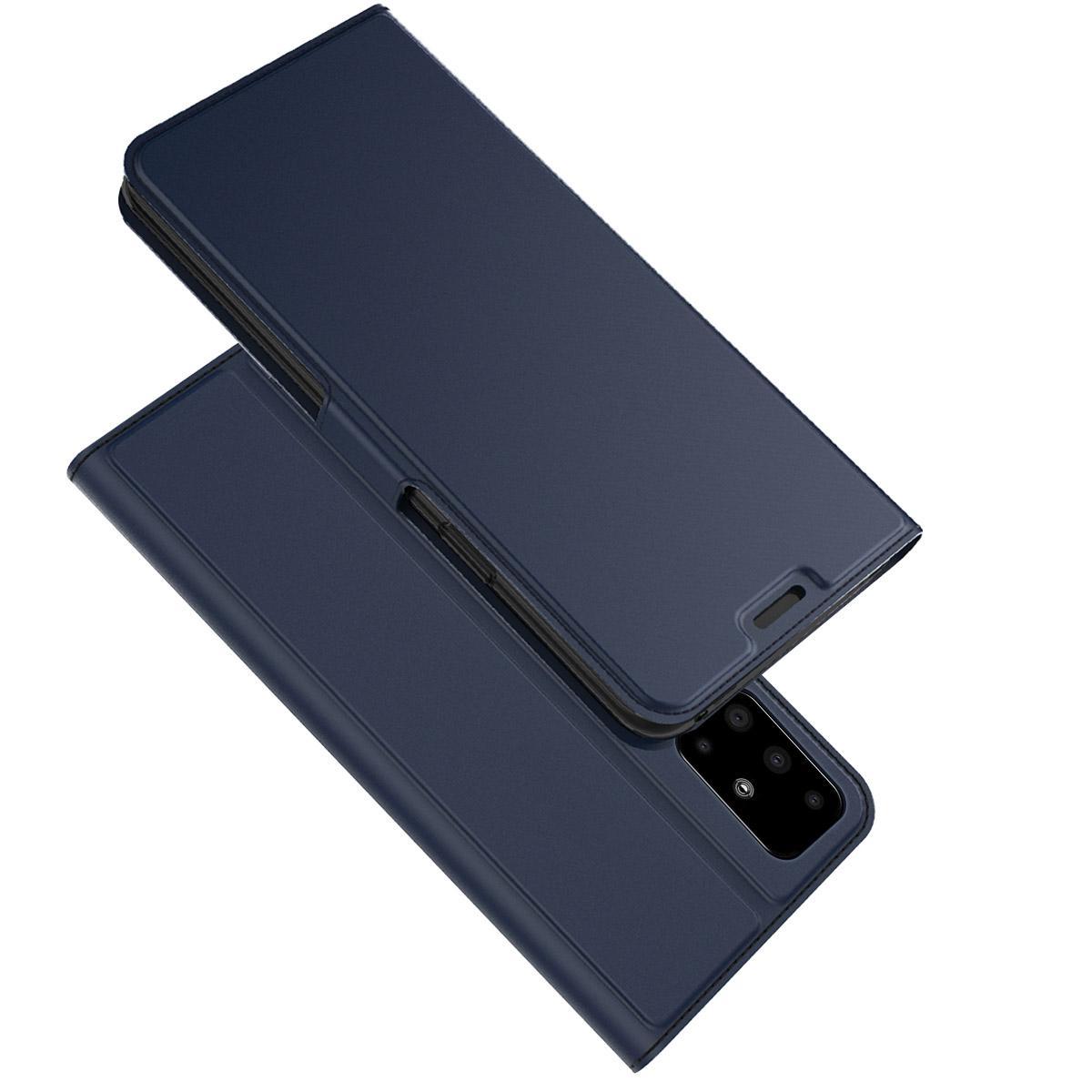 Slim Card Wallet Samsung Galaxy A51 marinblå