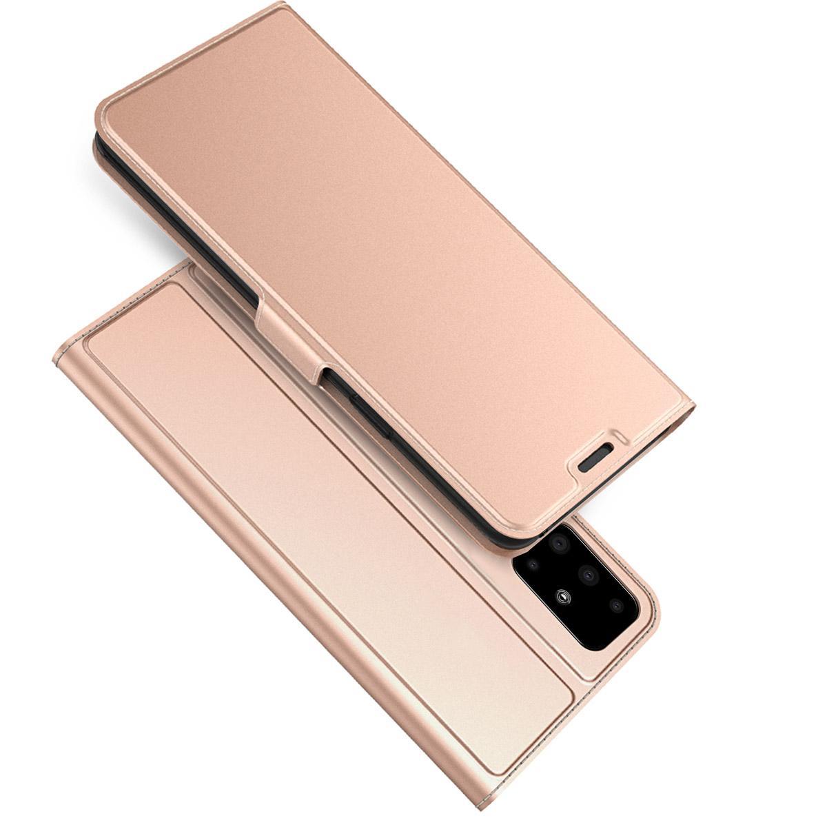 Slim Card Wallet Samsung Galaxy A51 roséguld